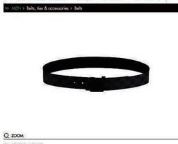Wholesale Leather Belt 42 - men belt INITIALES DA. GRAPHITE BELT M9808Q . fashion