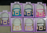 Wholesale Cliche Iphone Cases - Cliche Colorful Handbag Silicone Case Soft Silicon Back Cover Case for iPhone 5 5G 30pcs lot