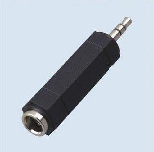 Hohe Qualität 6,5 mm bis 3,5 mm Kopfhöreradapter / 3,5 Stecker auf 6,5 weibliche Adapter Audio-Konverter