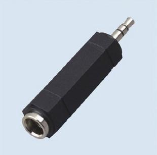 Alta qualidade 6.5mm a 3.5mm adaptador de fone de ouvido / 3.5 macho para 6.5 adaptador de adaptador de áudio fêmea