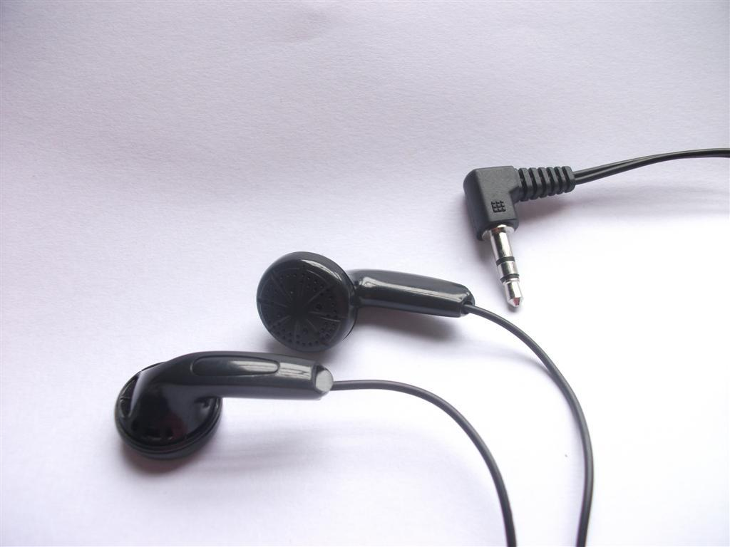 Disposable Black Stereo Hoofdtelefoon Bulk Earbuds /