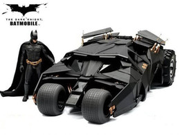 다크 나이트 BATMAN BATMOBILE 텀블러 BLACK CAR Vehecle Toys with Figure