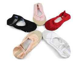 Chinese  recommendations of lady shoes shoes cheap ballet shoes 10pcs lot dance practice shoes manufacturers