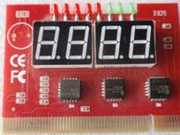 Wholesale Pc Tester Motherboard Diagnostic - PC 4-digit Code Mainboard Motherboard Diagnostic Analyzer Tester   PCI detection card  PC Analyzer c