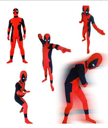 $enCountryForm.capitalKeyWord Canada - Wholesale Very Low Price - Full Body Deadpool Lycra Spandex Suit Halloween Zentai Suit Fancy Dress