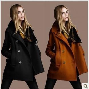 2017 Fashion Women Wool Coat Cape Women'S Clothing Autumn Winter ...