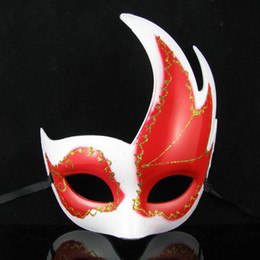 Wholesale cartoon masks for sale - Hot sale Sexy Hallowmas Venetian mask,masquerade masks,with Maple Leaf mask Dance party mask 5pcs