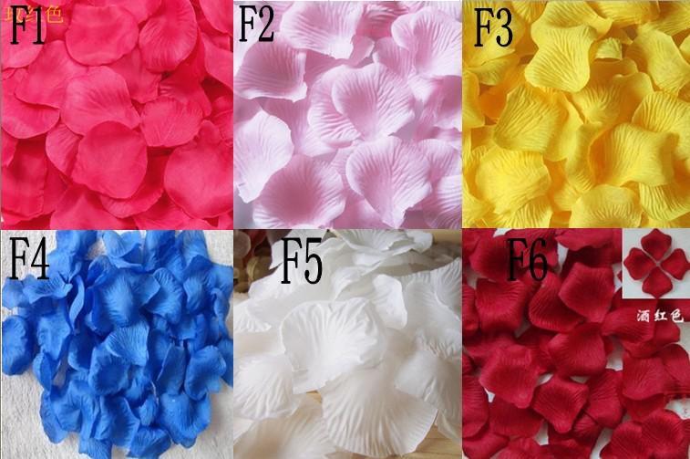 simulation petals rose blütenblätter großhandel hochzeit werfen blütenblätter ehebett blumen