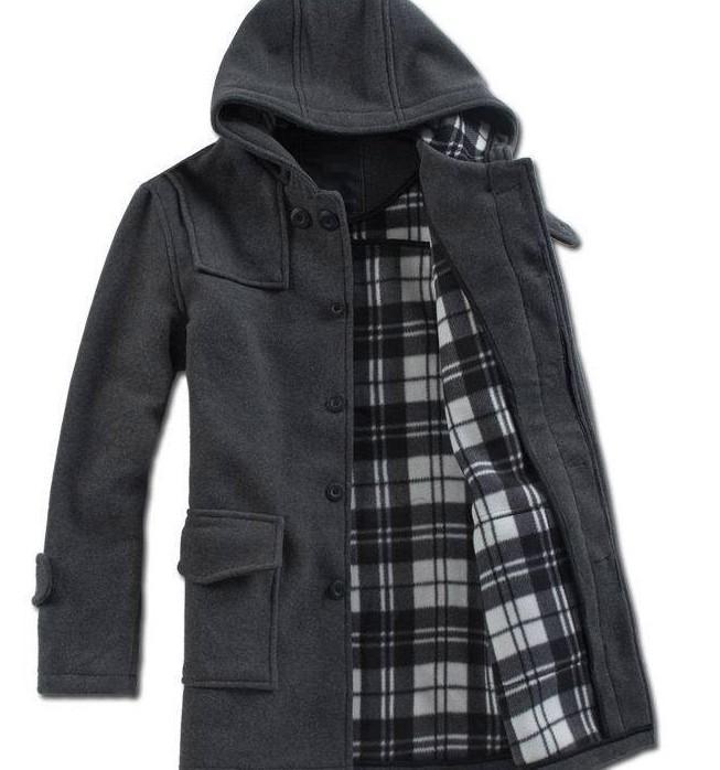 2017 Men'S Clothing Qiu Dong New Men Hooded Coat Grows Dust Coat ...