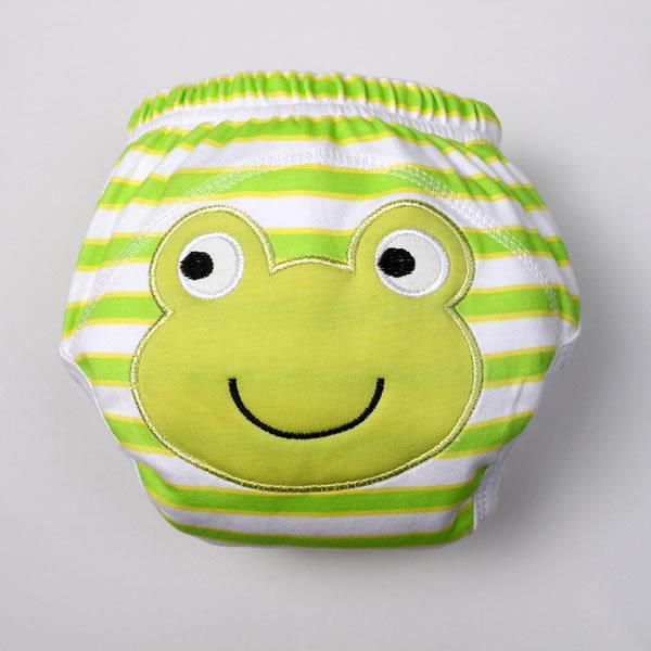 3-lagen Animal Baby Potty Training Broek Waterdicht Leren Broek Bloemen Vlinder 100% Katoen