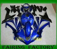 kits de cuerpo yamaha r1 al por mayor-Azul oscuro Custom moto piezas de carenado para YZFR1 07 08 YAMAHA YZF R1 2007 2008 mercado de accesorios del cuerpo kits