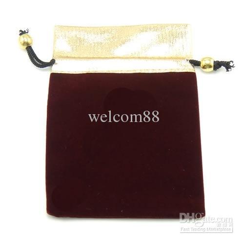 / 블랙 벨벳 쥬얼리 선물 가방 공예 패션 포장 디스플레이에 대 한 파우치 B09