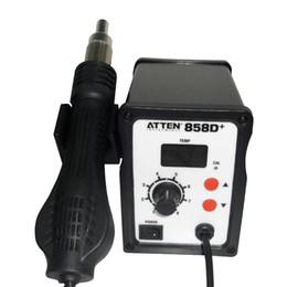 Wholesale Atten Rework - EMS + ATTEN AT858D SMD Hot Air Rework Station ATTEN Hot air station Hot gun Blower Heat Gun