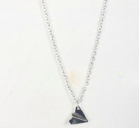 Wholesale Direction Necklace - New Arrival One direction 1D Paper plane necklace fashion must have 20PC  lot Hot sold !!!
