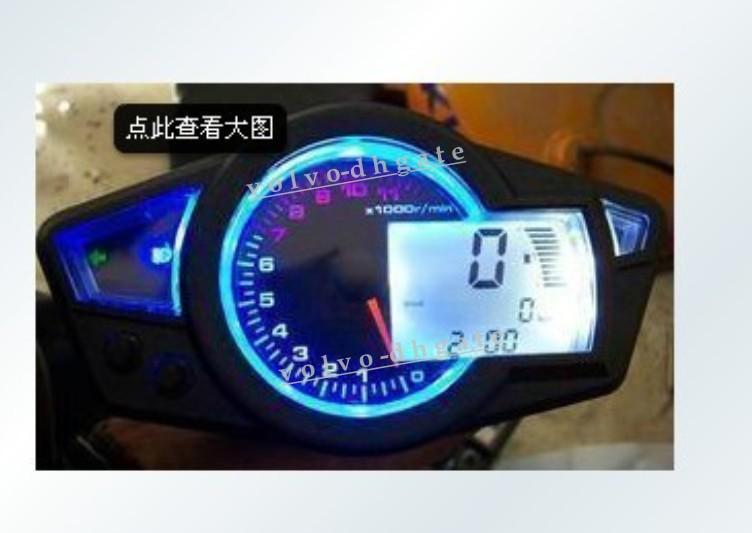 Diagram 2020 Motorcycle Lcd Digital Speedometer Tachometer