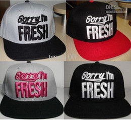Wholesale Sorry Fresh - Hot Selling ! sorry-im-fresh Snapback men's snapback Hats Cap Hat Hats Caps #8893