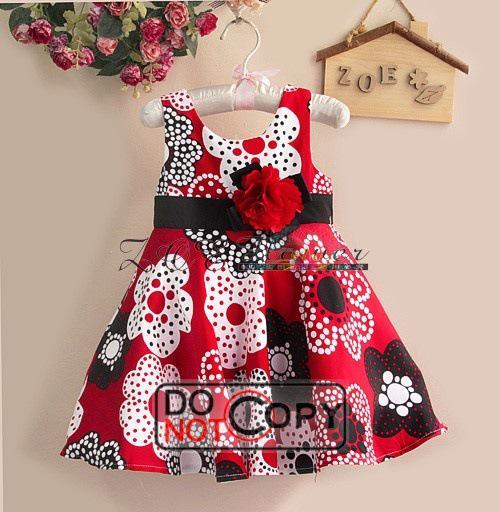 Online Cheap 2013 New Year Girl Dress Children's Christmas Dresses ...