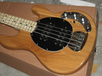 Wholesale Electric Guitar Natural Color - New Arrival Music 4 Strings Bass guitar Man Very Nice Natural Color Electric Bass Guitars