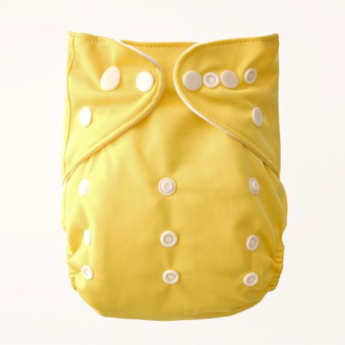 wholesale Naughty Baby Washable and Reusable Solid Cloth Diapers Baby Nappies China Factory