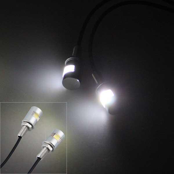 / luce di targa del motociclo LED della bici del motociclo LED Bolt luce bianca 1LED 5730SMD luce libera del piatto