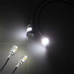 100pcs lot Bike Bicycle Motorcycle LED License Plate Bolt Light White 1LED 5730SMD Plate light Free shipping on Sale