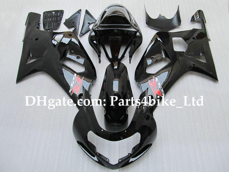 Carénage noir brillant pour K1 2001 2002 2003 SUZUKI GSXR 600 750 GSXR600 GSXR750 03 02 01