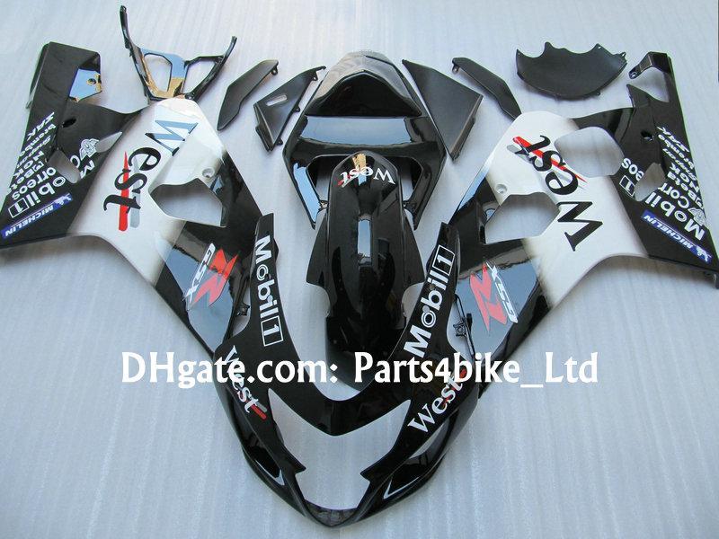 Custom West Fairing Kit voor 2004 2005 Suzuki GSXR 600 750 K4 GSXR600 GSXR750 04 05 GSX R600 Valerijen