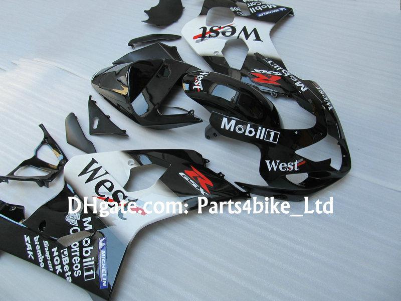 kit de carénage WEST personnalisé pour 2004 2005 SUZUKI GSXR 600 750 K4 GSXR600 carénages GSXR750 04 05 gsx r600