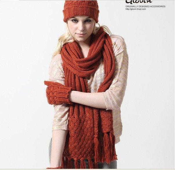 35b89873ae8 Winter Knit Scarf