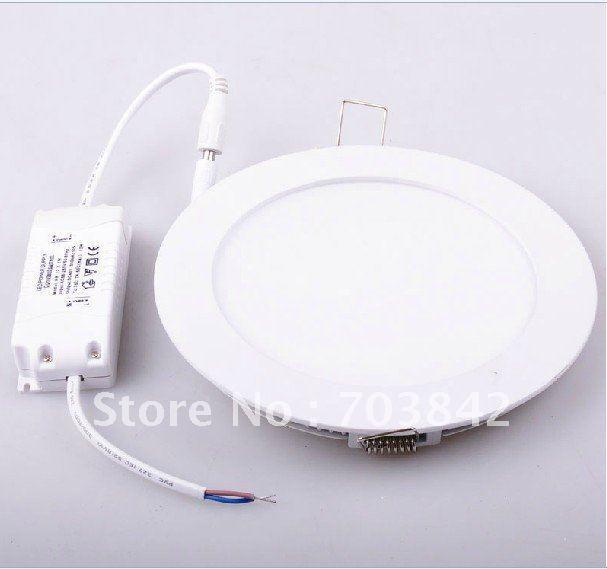 저렴한 높은 전원 LED 패널 램프 천장 조명 18W 자연 화이트 화이트 리얼 높은 전력을 따뜻하게 점등
