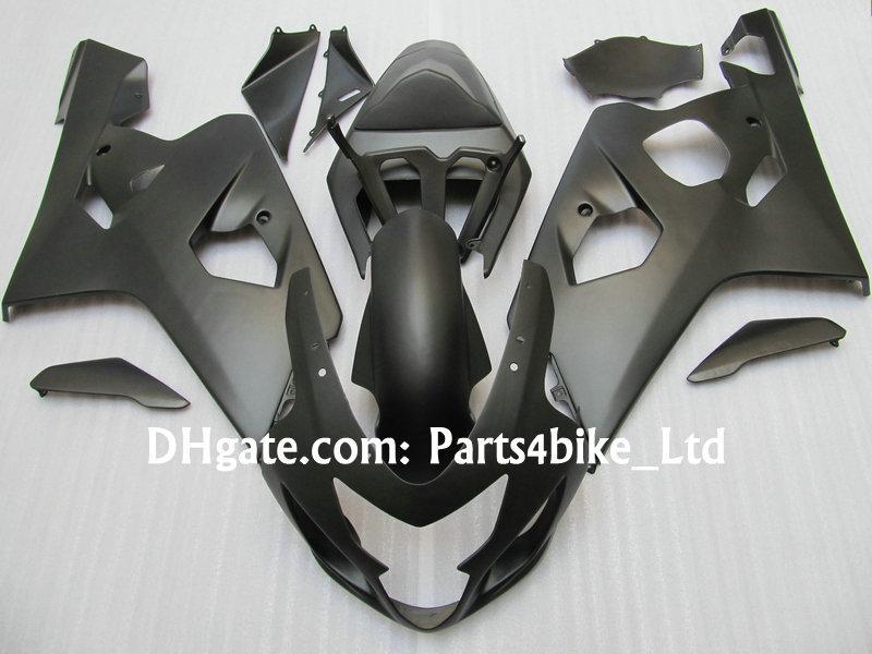 Juego de carenado negro mate para 2004 2005 SUZUKI GSXR 600 750 K4 GSXR600 GSXR750 04 05 gsx r750 carenados