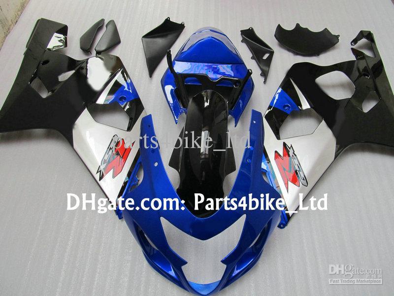 Black / Blue / Silver Fairing For Suzuki GSXR 600 750 K4 2004 2005 GSXR600 GSXR750 04 05 GSX R750 Lichaam