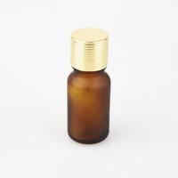 flaschen netto großhandel-50 teile / los Braunglasflasche ätherisches Öl Flaschen Parfüm Flasche Net 27 g 10 ml