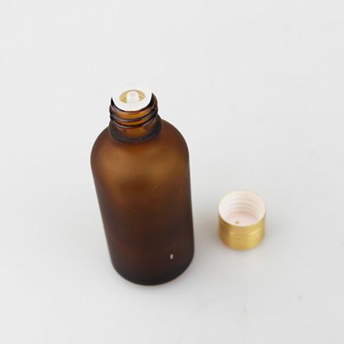 / 호박 유리 병 에센셜 오일 병 향수 병 50 ml