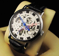 Wholesale Mens Hysek Jorg Abyss - 2015 Luxury Jorg Hysek Abyss Rose Gold Black Dial Automatic Mens Watch Men's Watches luxury watches waterproof wristwatches leather strap