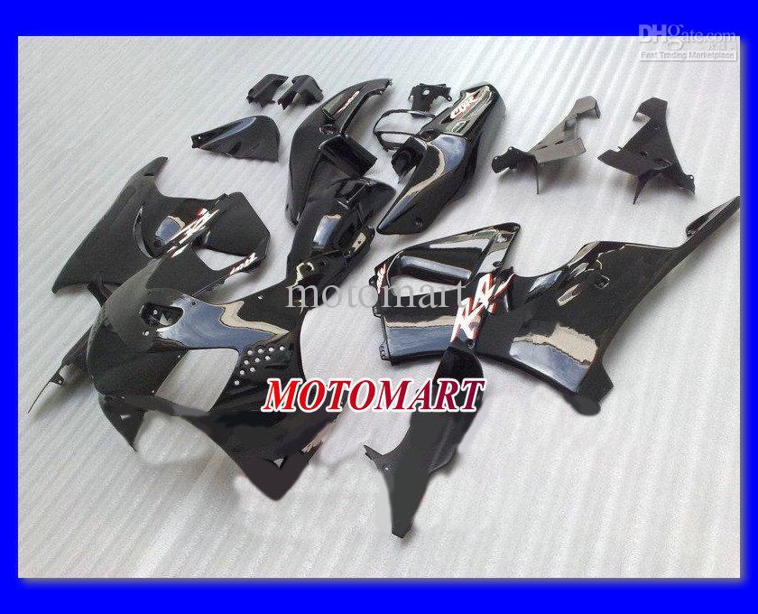 Hochwertig glänzend schwarzes Verkleidungskit für HONDA CBR900RR 919 98 99 CBR 900RR 1998 1999 CBR 900 RR 98 99 Motorradverkleidungen + 7Getriebe