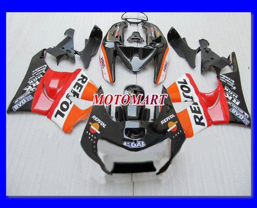 Custom Fairing Kit för Honda CBR900RR 919 98 99 CBR 900RR 1998 1999 CBR 900 RR 98 99 Motorcykel Fairings Set + 7Gifts HF14