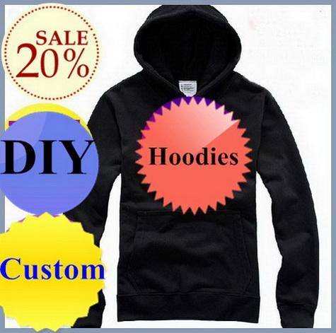 Custom made Mens hoodies pull à manches longues t shirts 360g bonne qualité logo design DIY rouge