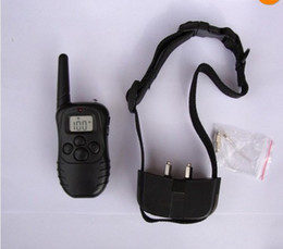 Wholesale Battery Collar - Pet Dog Training Collar 988D 300M LCD 100LV 300 Yard Level Electric Shock Vibration Remote without Battery