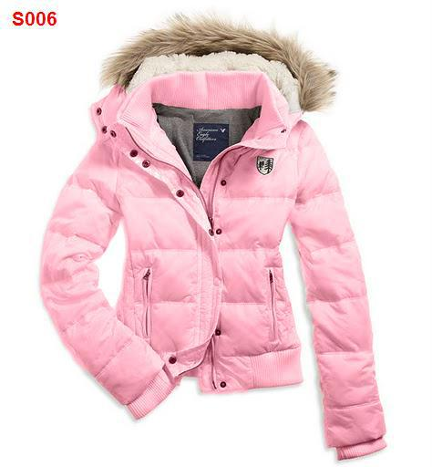 2018 New Ae Winter Fashion Women's Fur Collar Short Down Coat ...