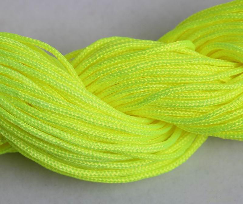 저렴하고 높은 품질 12 롤 DIY 1.0mm 나일론 코드 스레드 중국어 매듭 Macrame Bracele U 선택