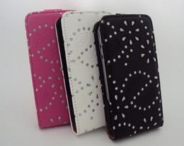 Wholesale Iphone 4s Magnet Case - Hot Sale Magnet Flip Clip Diamond Glitter Star Bling Leather Case Cover for iPhone 4 4S 10pcs lot