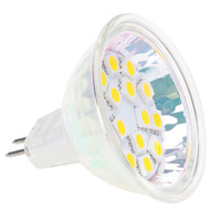 MR16 GU5.3 ha condotto la lampadina 15SMD 5050 Sorgente di luce luminosa eccellente di alta qualità stabile 20PCS / LOT