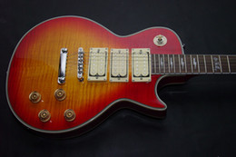 ace frehley guitar custom 2019 - Custom Ace Frehley Electric Guitar 3 pickups IN sunburst best Musical Instruments With hard case and without hard case