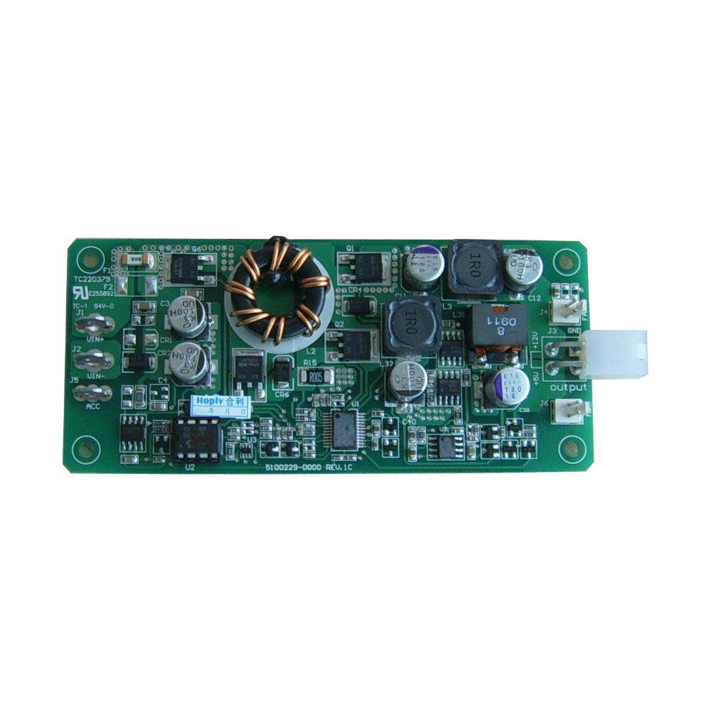 HL85D-7600,85W,6-30V Wide Input,12V/5A 5V/5A Output Smart DC-DC Power  Supply , mini-itx psu , itxpsu ,itxpsus