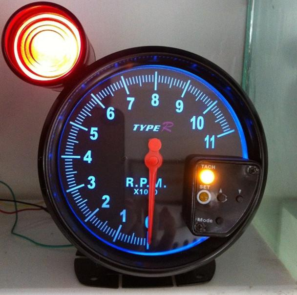 2017 5 type r tachometer rpm rev counter with shift lamp auto type r tacho  wiring