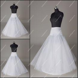 Wholesale Dress Underskirts - Tulle Petticoats A Line Wedding Dresses Crinoline Wholesale Bridal Underskirts