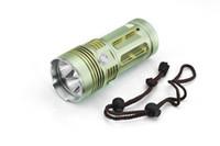Wholesale 3x Xml T6 - wholesale 5000 Lumens 3x CREE XML XM-L T6 led Flashlight Torch light for Outdoor Camping