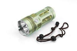 Wholesale Cree Flashlight 3x T6 - wholesale 5000 Lumens 3x CREE XML XM-L T6 led Flashlight Torch light for Outdoor Camping