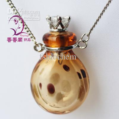 charms pendant jewelry essential for bottle miniature assorted blown necklace hand glass empty vial jewellery bottles oil